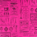 Tissu Yuwa 100% coton 17m - 82