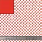 Tissu filet Mesh fabric rouge - 40