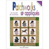 Livre patchworks et appliqués - un monde de tendre - 105