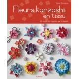 Fleurs kanzaski en tissu - 105