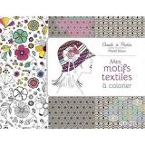 Mes motifs textiles à colorier - 105