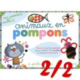 Ma Malle à animaux en pompons (tva 20%) - 105
