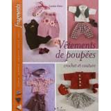 Livre vêtements de poupées crochet et couture - 105
