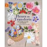 Livre fleurs en transferts - 405 modèles - 105