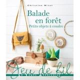 Livre Balade en forêt-petits objets à coudre - 105