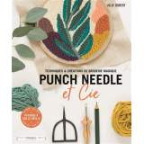 Livre punch needle de Julie Robert - 105