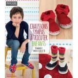 Chaussons sympas à tricoter - 105
