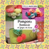 Pompons fantaisie et yoyos en tissu - 105