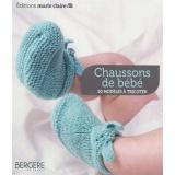 Livre Chaussons bébé - 50 modeles à tricoter - 105