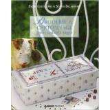 Livre broderie et cartonnage pour enfants sages - 105