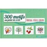 300 motifs au point de croix-animaux,nature,saison - 105