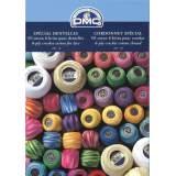 Carte de coloris fil dentelle - cordonnet spécial - 12