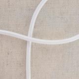 Cable élastique 5mm blanc