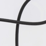 Cable élastique 5mm noir