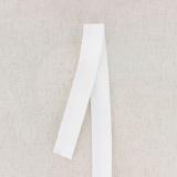 Ceinture slip h 25mm blanc