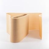Tulle lourd élastique 10cm chair