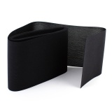 Tulle lourd élastique 12cm noir