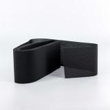 Tulle lourd élastique 6cm noir