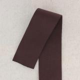 Bande élastique 2 sens 60mm marron
