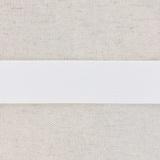 Élastique côtelé poly.gomme 35mm blanc