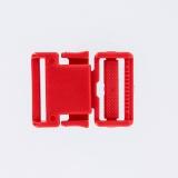 Boucle plastique 30mm rouge