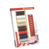 Kit de fil à coudre avec 10 pinces pour tissus - 149