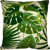 Kit 40/40 coussin Feuilles tropicales - 150