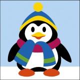 Kit 20/20 Pingouin hiver - 150
