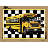 Canevas 45/60 antique Scool bus - 150