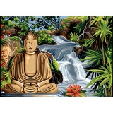 Canevas 45/60 antique bouddha - 150