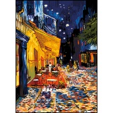 Canevas 45/60 antique terrasse de cafe - van gogh - 150