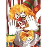 Canevas 45/60 antique Clown - 150