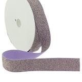 Elastique lurex violet 20mm