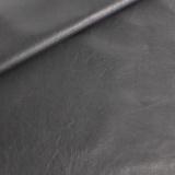 Coupon 50/30 simili cuir métallisé noir
