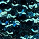 Paillette cuvette 10grs 6mm bleu clair - 162