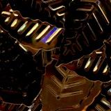 Paillette feuille 25/12mm 7grs cuivre - 162