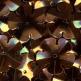 Paillette fleur 14mm 7grs cuivre - 162