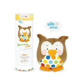 Kit doudou Kullaloo hibou lou marron - 169