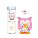 Kit doudou Kullaloo hibou lou rose - 169