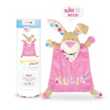 Kit doudou Kullaloo lapin kulio rose - 169