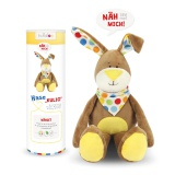 Kit doudou Kullaloo lapin kulio marron - 169