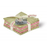 Fat quarter asst 5 coupons lizzy's garden - 169