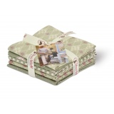 Fat quarter asst 5 coupons pemberley véro's word - 169