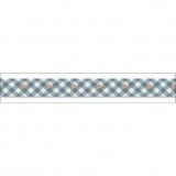 Ruban coton imprimé de 15 mm / 2m - 169