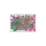 Épingle tête perle multicolor 10 - 17
