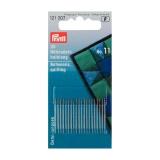 Aiguille/coudre demi-longue n°11 0,50x26mm arg/or - 17