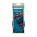Aiguille tricot aluminium rapide flex 60cm n°2,5 - 17