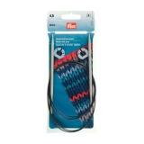 Aiguille tricot aluminium rapide flex 60cm n°4,5 - 17