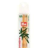 Aiguille à tricoter bambou 15cm n°2,5 - 17