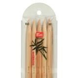 Aiguille tricot 2 pt bambou 20cm n°10 - 17